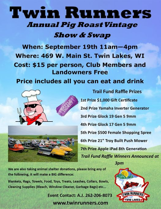 Pig Roast Show and Swap @ Groomer Shed